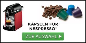 Unsere Auswahl an Kaffeekapseln für Nespresso®